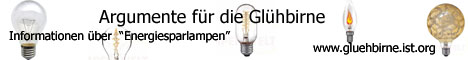Banner Glühbirne 468x60